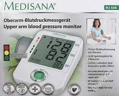 medisana upper arm blood pressure monitor bu a50 with adapter