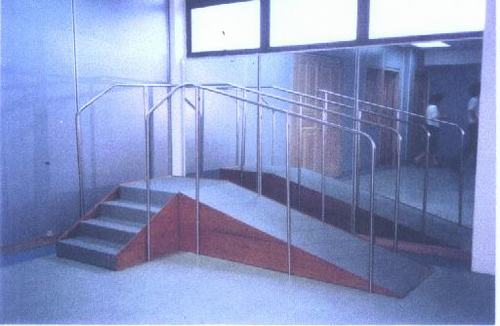 Exercise Stair With Ramp
